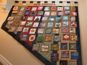 Canada Day Quilt by Members